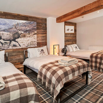 Bedroom - Accommodation Aviemore
