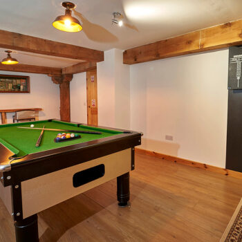 Games Room - Big Husky Lodge Aviemore