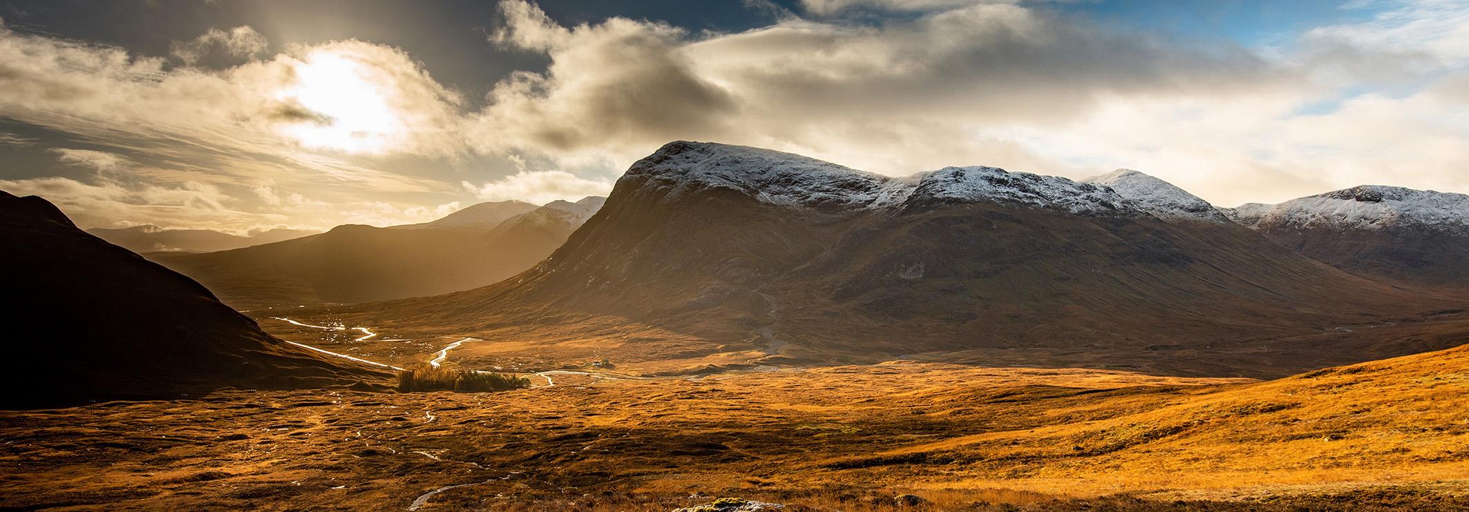 Glencoe Mountain Range