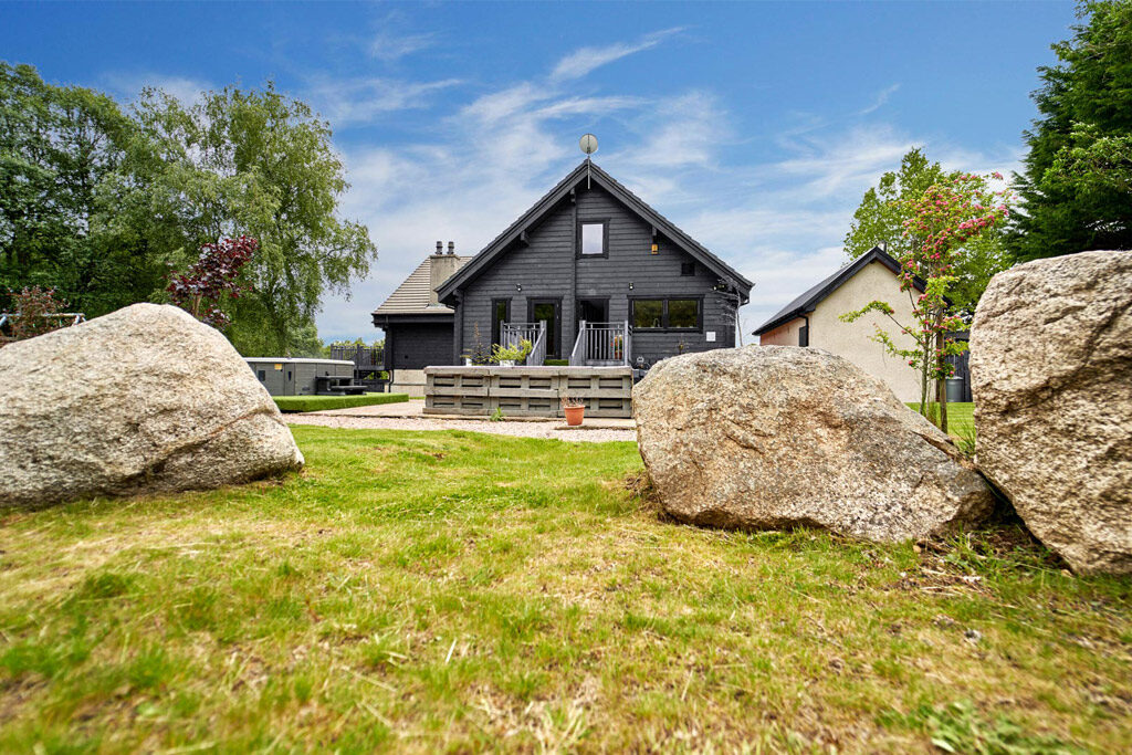 Standing Stones and lodge